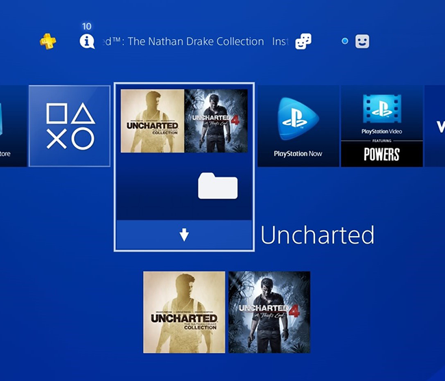 PS4: Manage Your games and apps with folders